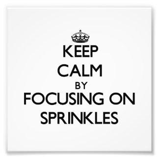 Guarde la calma centrándose en Sprinkles