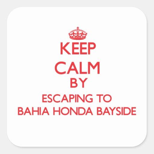 Guarde la calma escapándose a Bahía Honda Bayside Colcomania Cuadrada