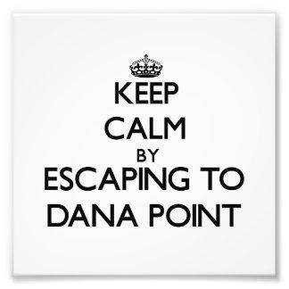 Guarde la calma escapándose a Dana Point Californi Foto
