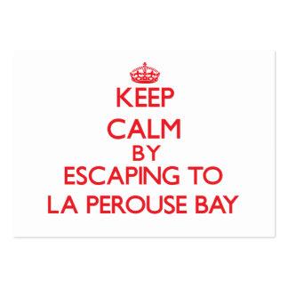 Guarde la calma escapándose a la bahía Hawaii de P Tarjeta Personal