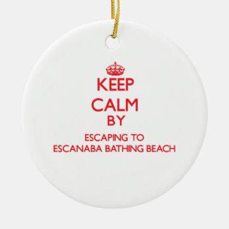 Guarde la calma escapándose a la playa de baño de