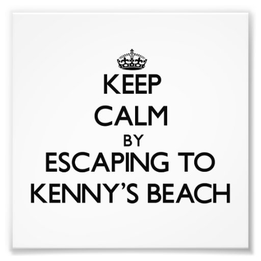 Guarde la calma escapándose a la playa Nueva York  Fotografia