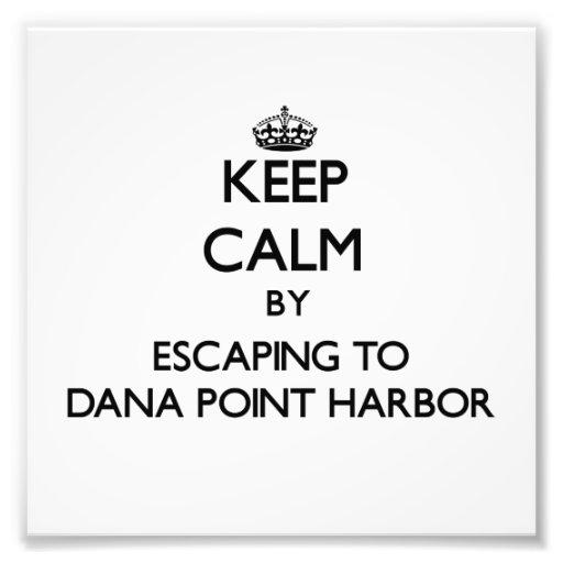 Guarde la calma escapándose al puerto Califor de D Foto