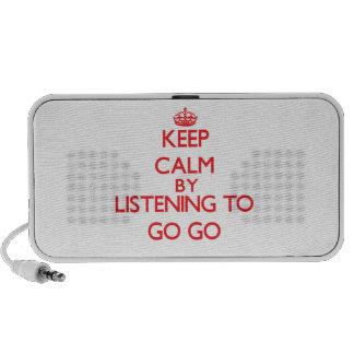 Guarde la calma escuchando A IR VAN