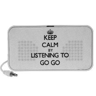 Guarde la calma escuchando A IR VAN Altavoz De Viajar