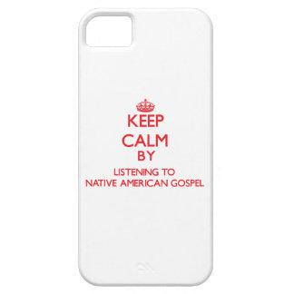 Guarde la calma escuchando el EVANGELIO del NATIVO iPhone 5 Carcasa
