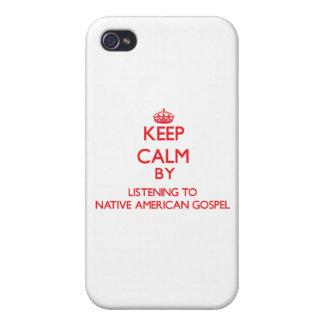 Guarde la calma escuchando el EVANGELIO del NATIVO iPhone 4/4S Carcasa