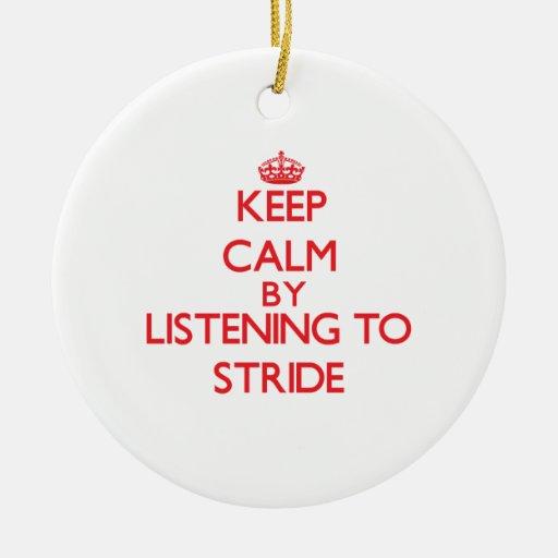 Guarde la calma escuchando el PASO GRANDE Ornamento De Reyes Magos