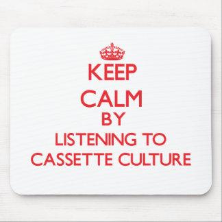 Guarde la calma escuchando la CULTURA del CASETE