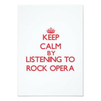 Guarde la calma escuchando la ÓPERA ROCK Anuncios Personalizados