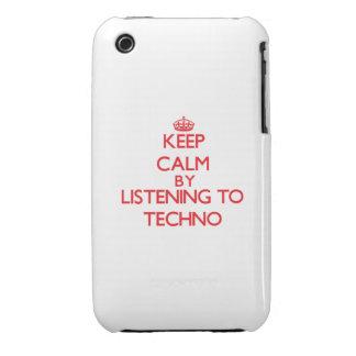 Guarde la calma escuchando TECHNO