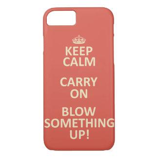 Guarde la calma funda iPhone 7