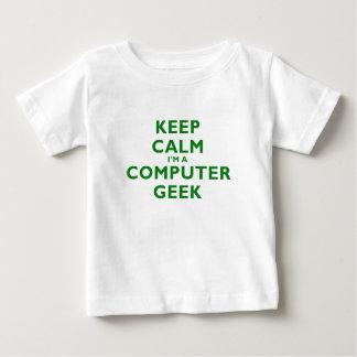Guarde la calma Im un friki del ordenador Camiseta