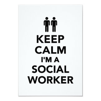 Guarde la calma que soy asistente social comunicados personales