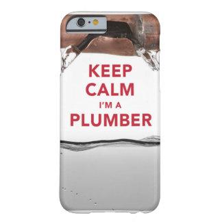 """Guarde la calma que soy caso fresco del iPhone 6 Funda Para iPhone 6 Barely There"