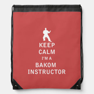Guarde la calma que soy instructor de Bakom Mochilas
