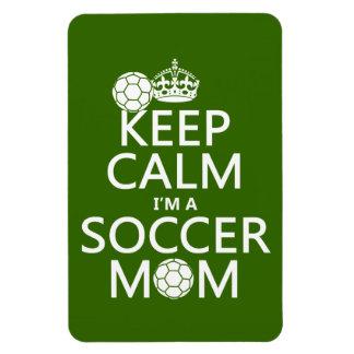 Guarde la calma que soy una mamá del fútbol (en cu iman