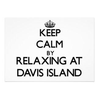 Guarde la calma relajándose en la isla la Florida