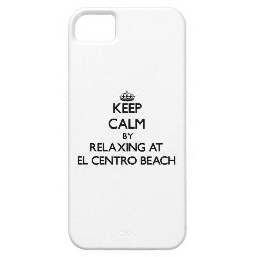 Guarde la calma relajándose en la playa la Florida iPhone 5 Cobertura