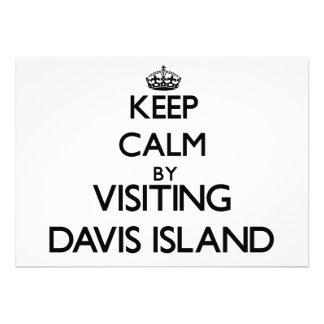 Guarde la calma visitando la isla la Florida de Da