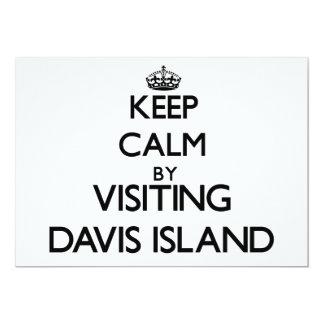 Guarde la calma visitando la isla la Florida de Invitacion Personal