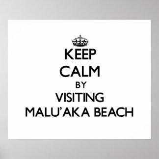 Guarde la calma visitando la playa Hawaii de Malu' Impresiones