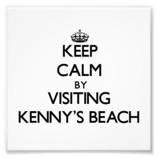 Guarde la calma visitando la playa Nueva York de K