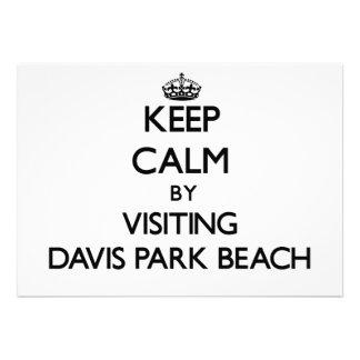 Guarde la calma visitando la playa Nueva York del
