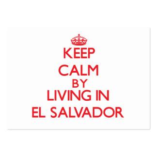 Guarde la calma viviendo en El Salvador