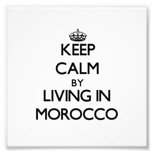 Guarde la calma viviendo en Marruecos Fotografías