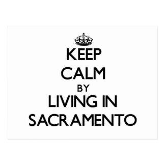 Guarde la calma viviendo en Sacramento Postal