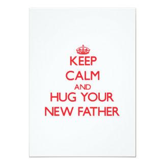 Guarde la calma y ABRACE a su nuevo padre Comunicados