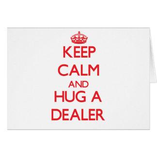 Guarde la calma y abrace a un distribuidor autoriz tarjetas