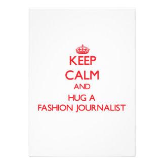 Guarde la calma y abrace a un periodista de la mod comunicado personal