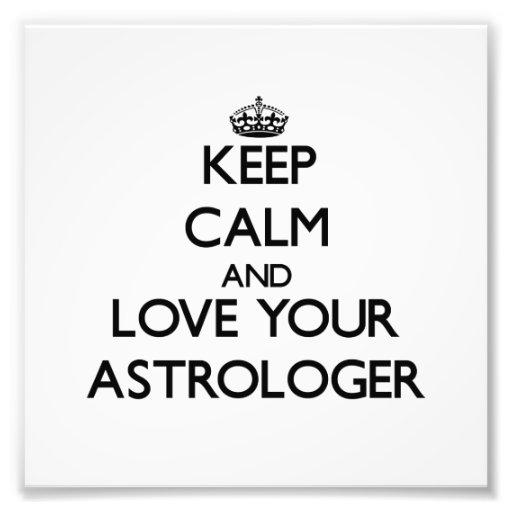 Guarde la calma y ame a su astrólogo fotografias
