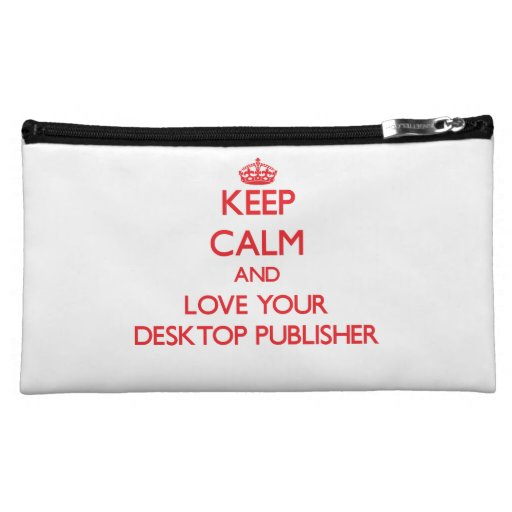 Guarde la calma y ame a su editor de escritorio