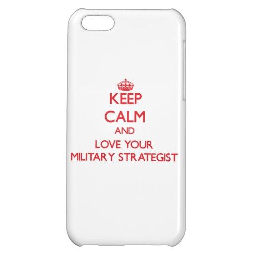 Guarde la calma y ame a su estratega militar