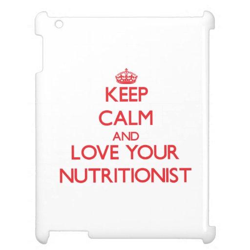 Guarde la calma y ame a su nutricionista