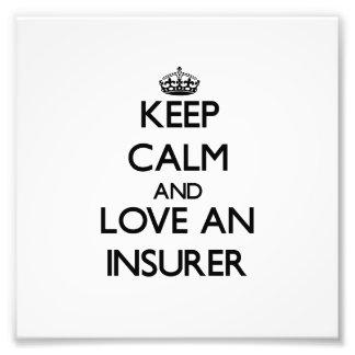 Guarde la calma y ame a un asegurador