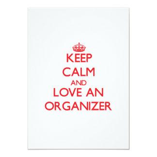 Guarde la calma y ame a un organizador comunicados