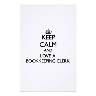 Guarde la calma y ame a un vendedor de la contabil  papeleria