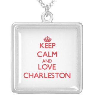 Guarde la calma y ame Charleston Joyería