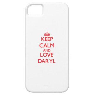 Guarde la calma y ame Daryl iPhone 5 Cobertura