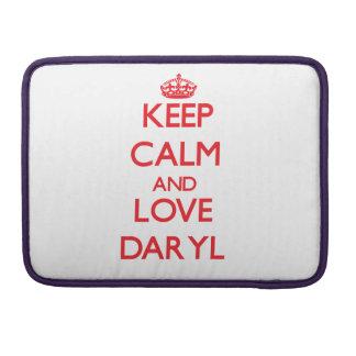 Guarde la calma y ame Daryl Fundas Macbook Pro