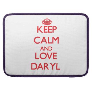 Guarde la calma y ame Daryl Funda Macbook Pro