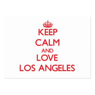 Guarde la calma y ame Los Ángeles