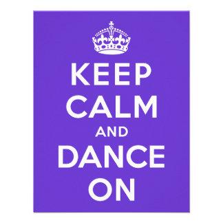 Guarde la calma y baile encendido anuncios