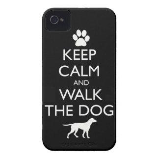 Guarde la calma y camine el paseo lindo de los mas iPhone 4 fundas