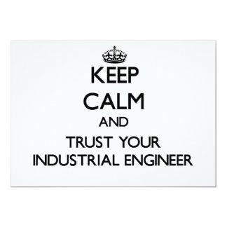 Guarde la calma y confíe en a su ingeniero anuncios personalizados