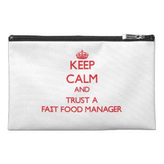 Guarde la calma y confíe en a un encargado de los